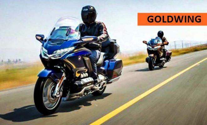 New Honda Gold wing 2018
