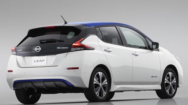 New Nissan Leaf rear