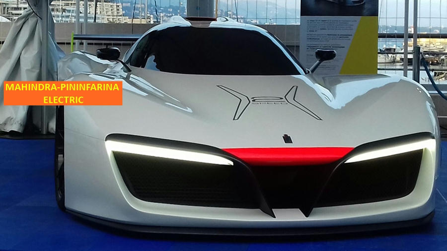 Pininfarina new electric mahindra