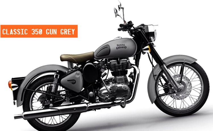 Royal Enfield Classic 350 Gunmetal Classic 500 Stealth