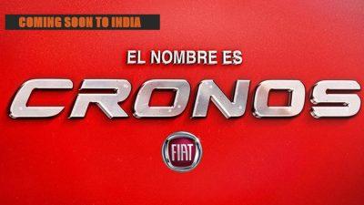 2018 Fiat Cronos India