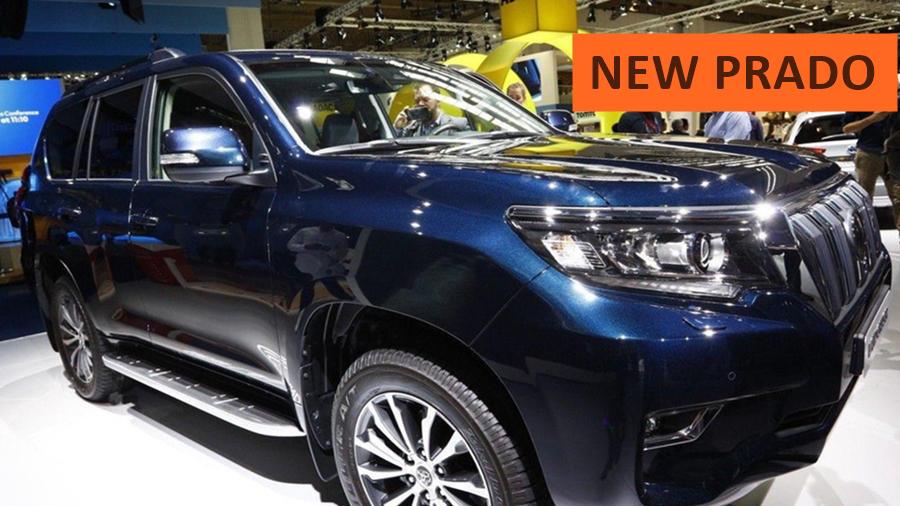 2018 Toyota Land Cruiser front