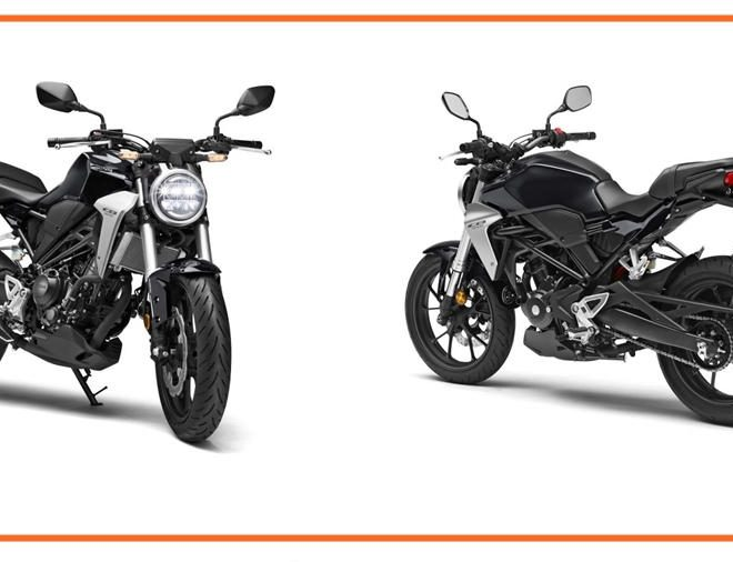 2018 Honda CB300R Front Rear 330x3802x