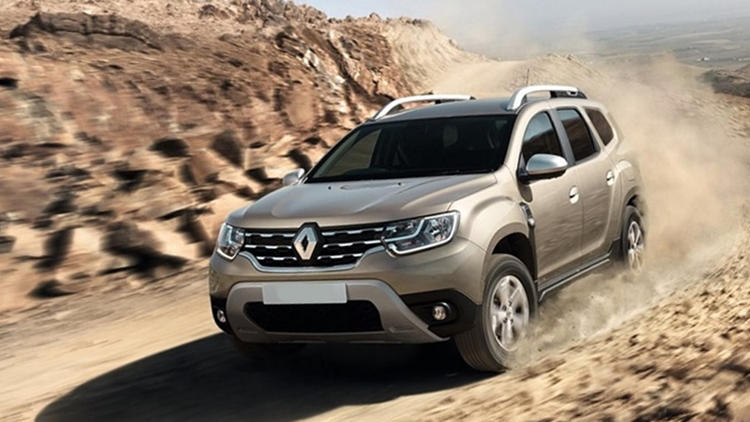 2018 Renault Duster ride