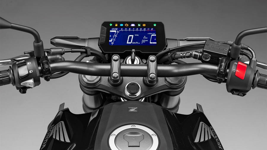 Honda CB300R 2018 Instrument display