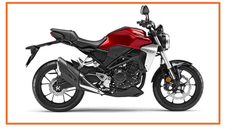 New Honda CB300R red
