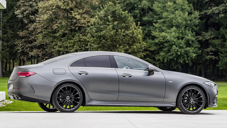 Mercedes Benz CLS side