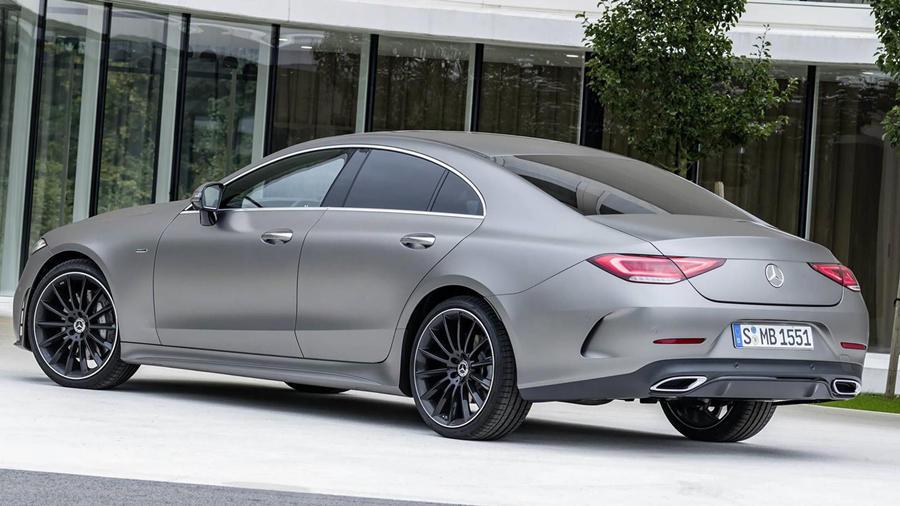 New Mercedes CLS45 grey
