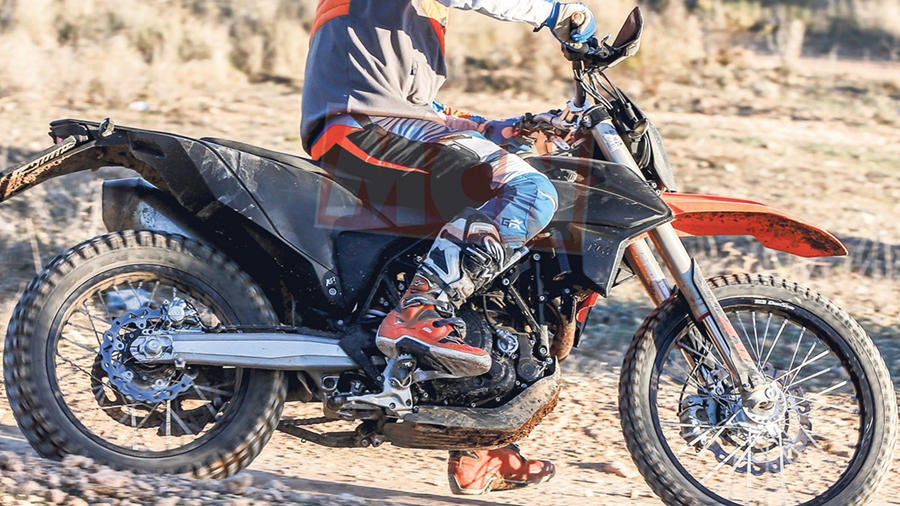 2018 KTM Enduro R side