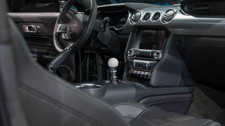 2019 Ford Bullit interior