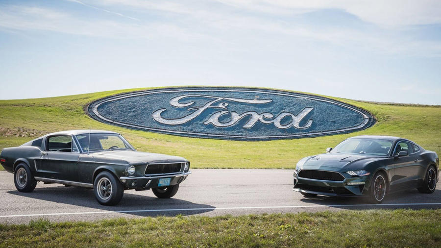2019 Ford Bullit vs Original 1968