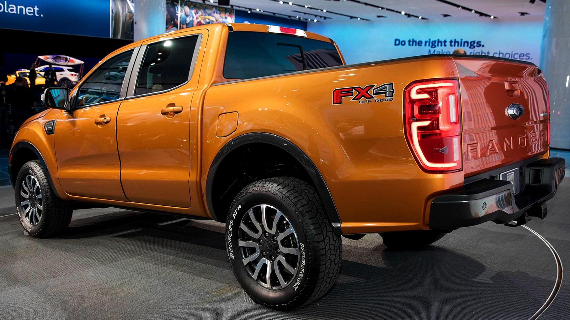 Ford Ranger 2019 Detroit