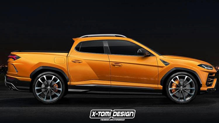 Electric Pickup Truck >> Lamborghini Urus Coupe & Pickup truck - What do you think? -Autopromag