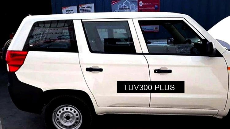 Mahindra TUV300 Plus P4 side