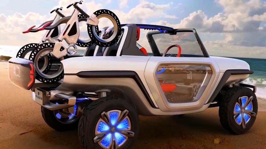 Maruti Suzuki e-Survivor concept 2018
