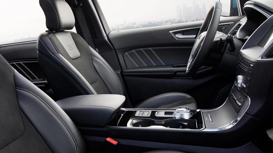 New Ford Edge ST interior seats