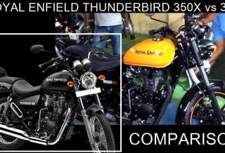 Royal Enfield Thunderbird 350X vs 350