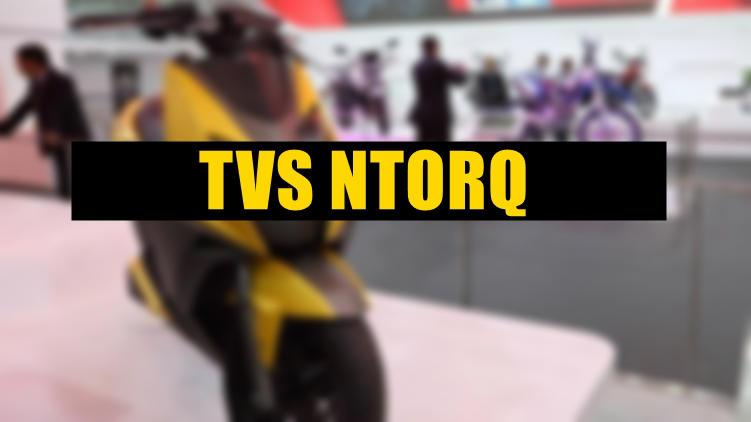 TVS 125cc ntorq scooter