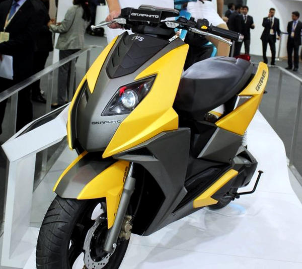 Yamaha Scooters Black And Yellow
