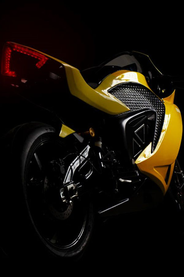 electric motorcycle rear