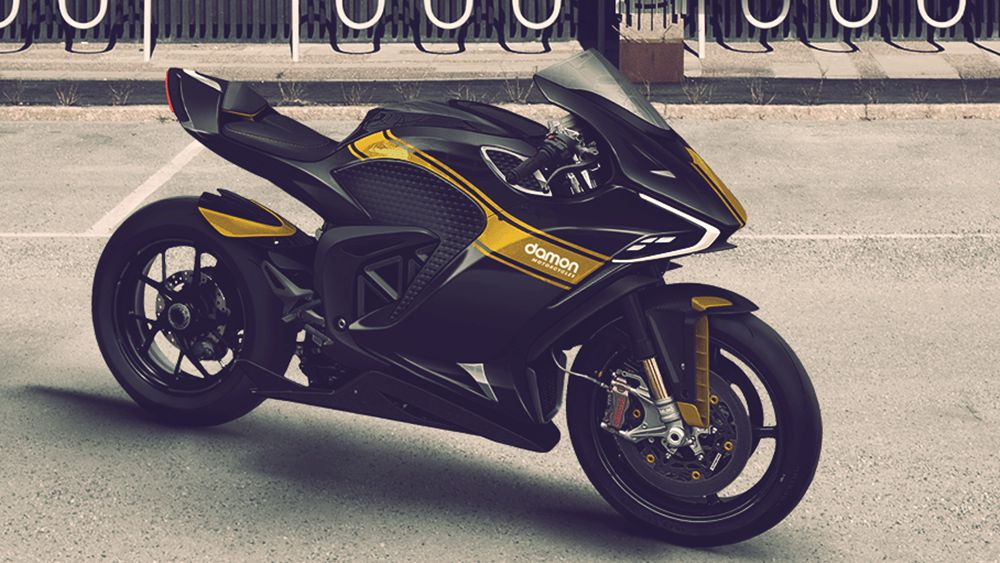 damon electric superbike