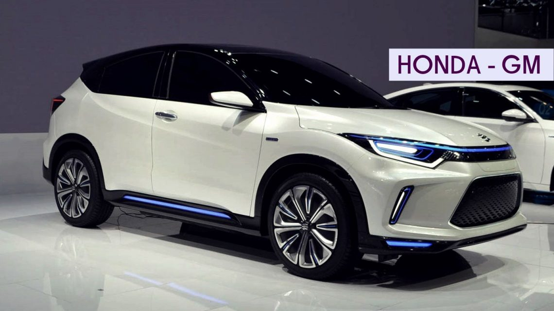 Honda and GM Electric crossover partnership