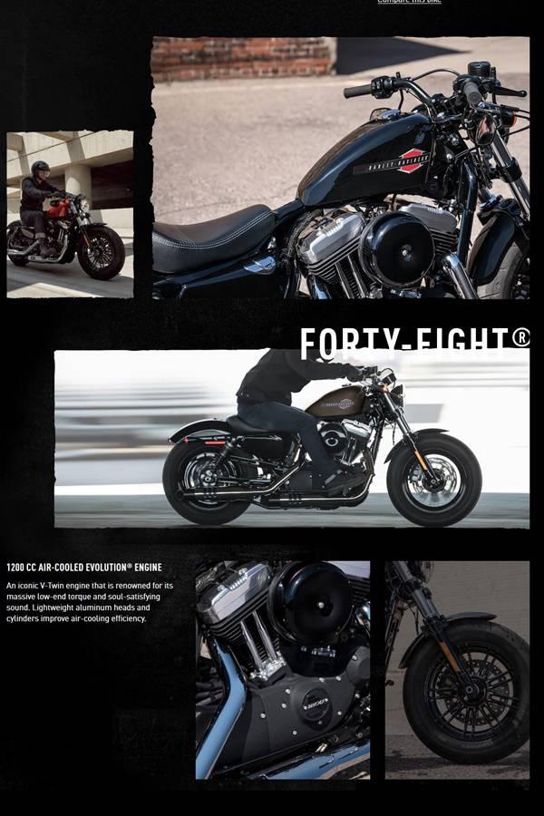 Harley sportster brochure