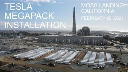 PG&E's Gigantic Battery (256 Tesla Megapacks) In California Nears Completion