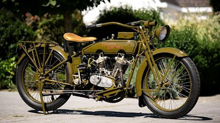 This 1919 Harley-Davidson Is Now Rideable Thanks To 3D Printing