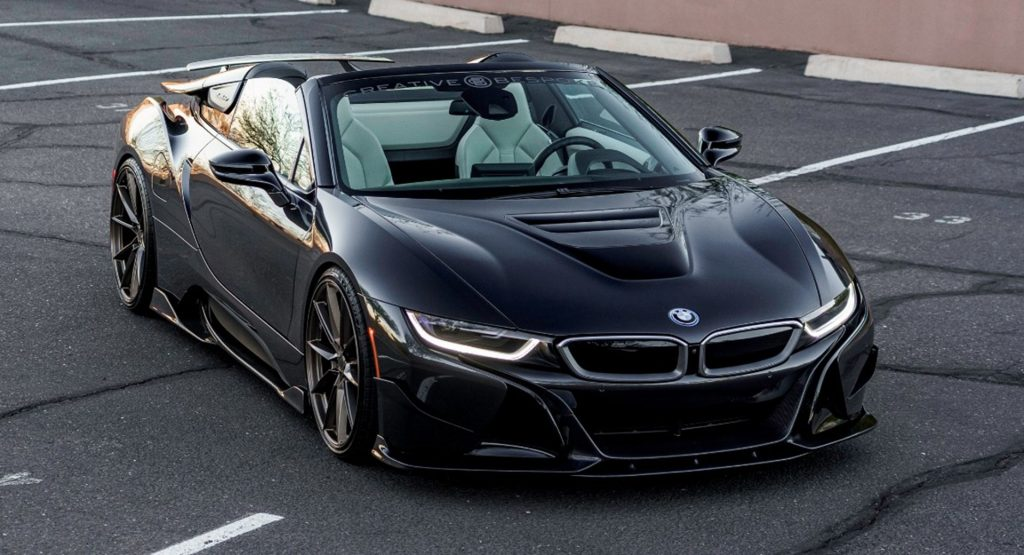Would You Spend $140,000 On This Modified BMW i8 Roadster Dripping With Carbon Fiber?