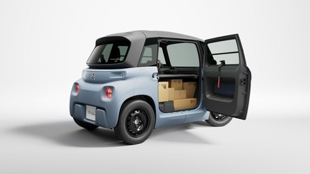 Citroen My Ami Cargo Debuts As Tiny Commercial EV With 8 HP