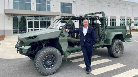 GM Defense Builds One-Off Electric ISV To Impress The Army