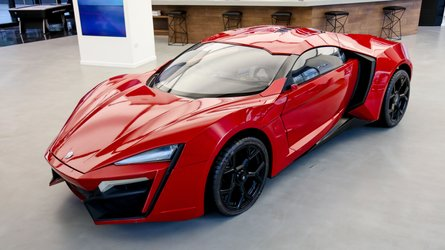 Only Surviving Lykan HyperSport Stunt Car From F&F 7 To Be Auctioned
