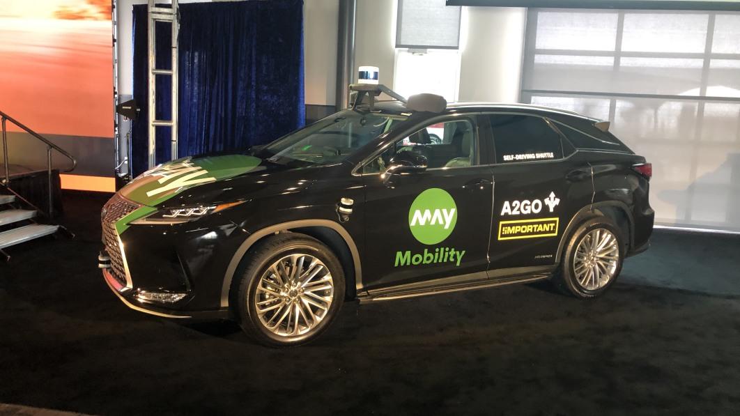 May Mobility announces A2GO autonomous shuttle in Ann Arbor, Mich.