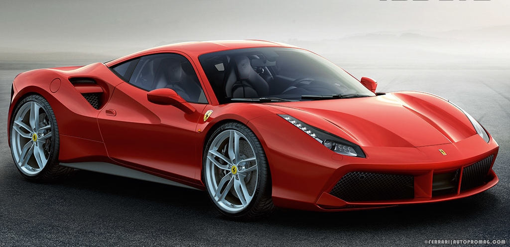 Ferrari 488 GTB wallpaper front