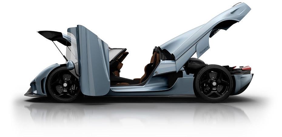 Koenigsegg regera vs Bugatti chiron