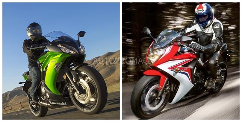 The Kawasaki Ninja 650r vs The Honda CBR 650 F – A Small Comparison