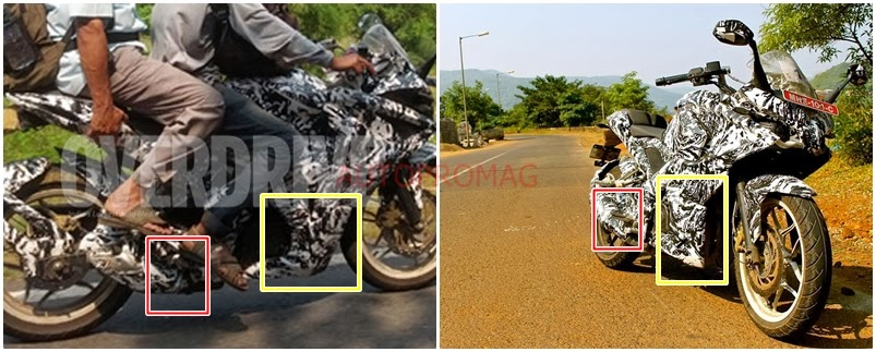 It seems as if Both the Pulsar 375 and the 200SS have been Spotted Testing!!