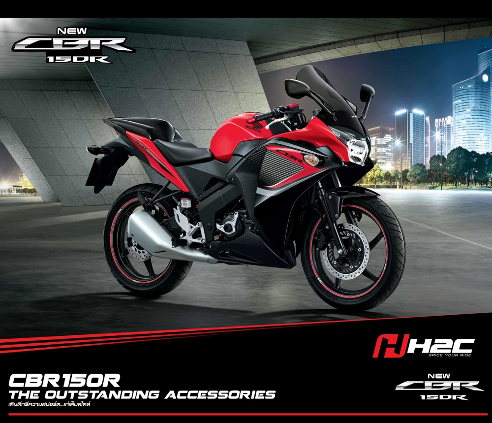 Check Out The New CBR 150R Colors In Thailand !