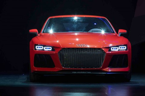 Audi LMX laser light