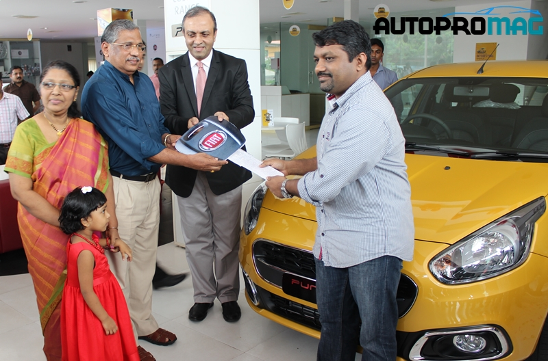 Punto evo first launch kerala