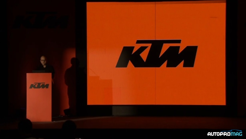 ktm launch ceremony rc 390