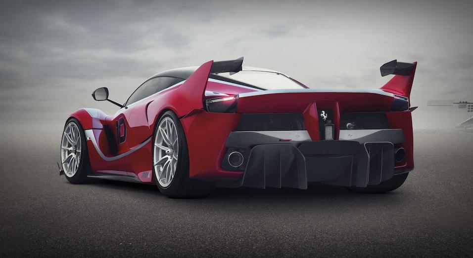 Ferrari FXX K  rear