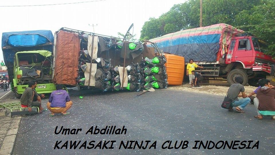 ninja container overturns
