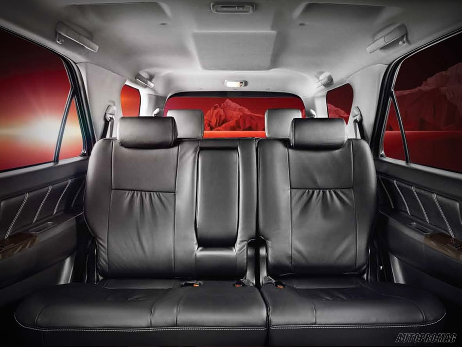 Interiors Toyota Fortuner 2015
