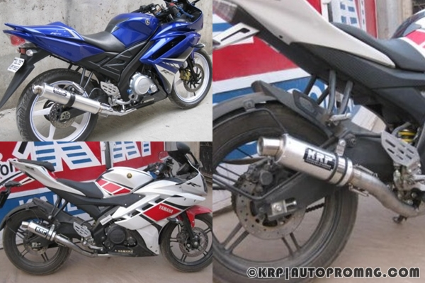 krp exhaust for r15