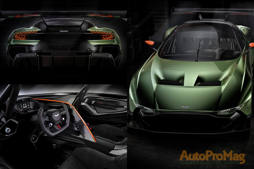 Aston Martin Vulcan full pictures