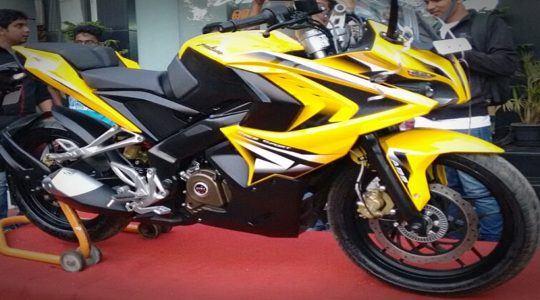 Bajaj Pulsar RS200 To Be Launched On March 26, Specifications Out.