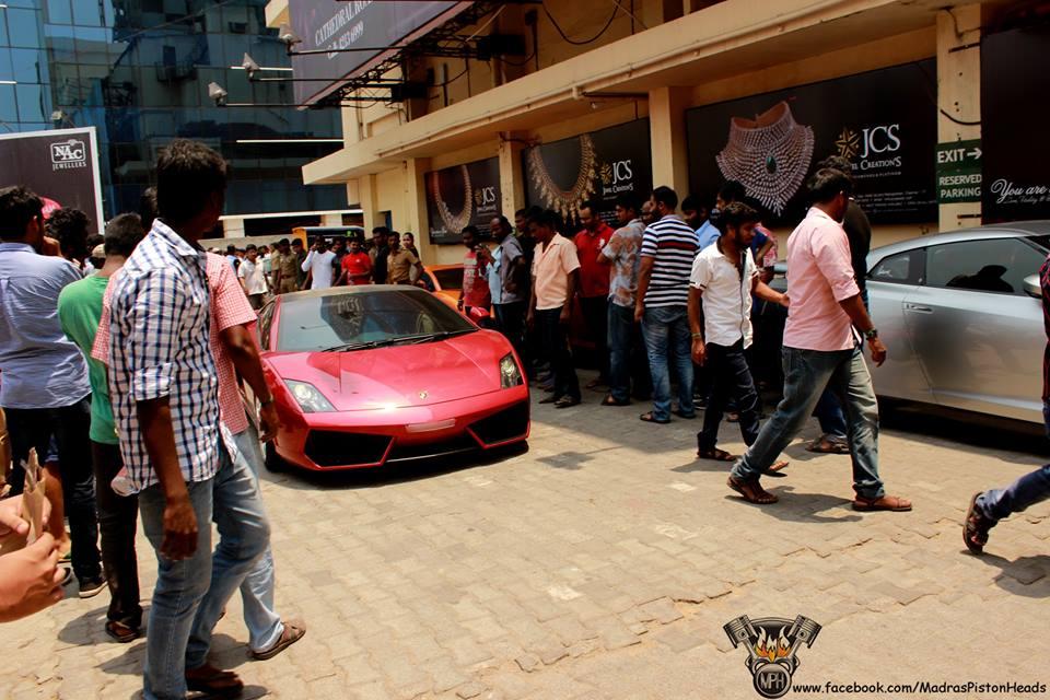 supercars sathyam theaters chennai 2
