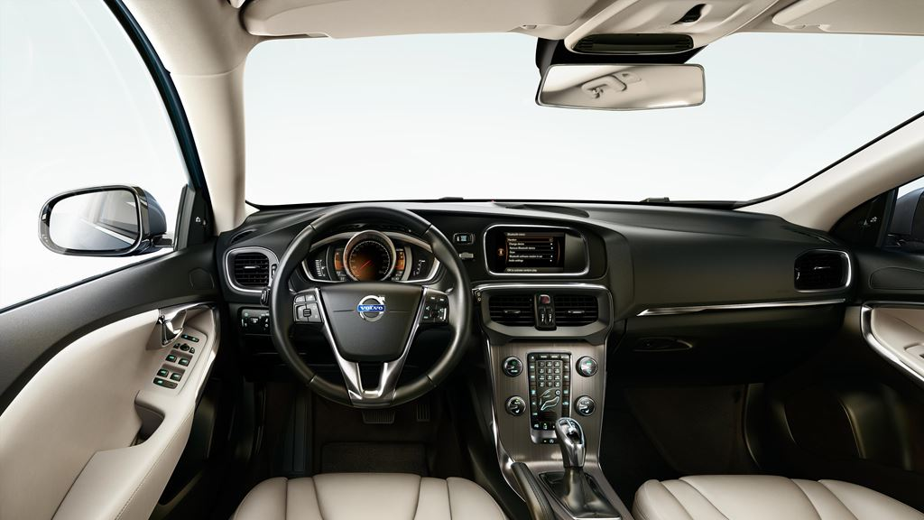 Volvo V40 hatch interior India